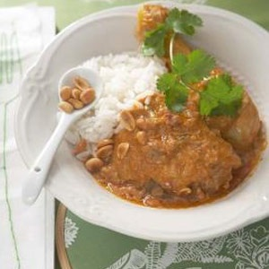 recipe, curry, chicken