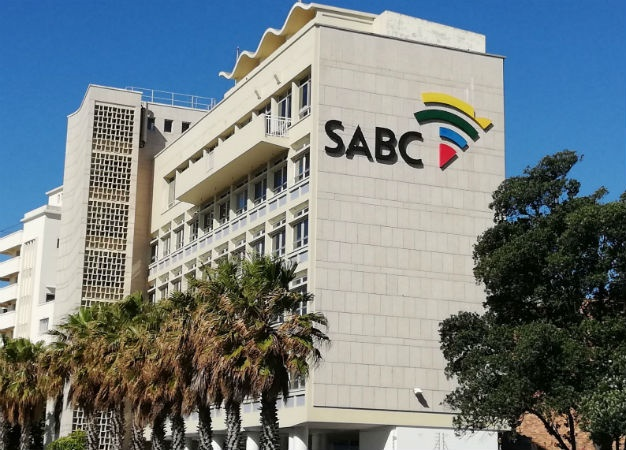 SABC in Cape Town is photographed. (Duncan Alfreds, News24)