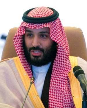 Saudi Crown Prince Mohammed bin Salman. (Saudi Press Agency via AP)