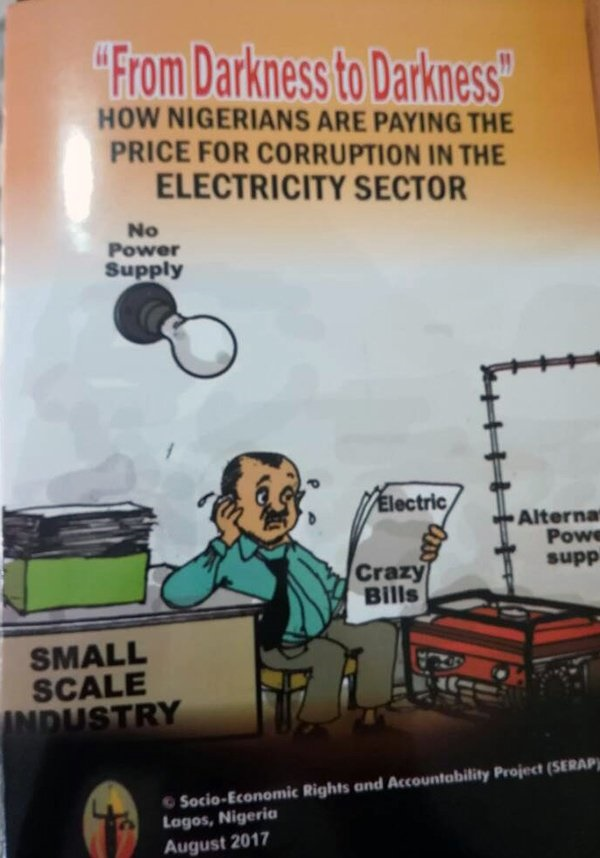 Nigerians paying the price for corruption in power