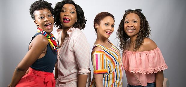 Salamina Mosese, Thembisa Mdoda, Kay Smith and Din