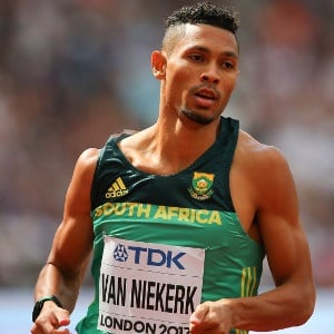 Wayde van Niekerk. (Getty Images)
