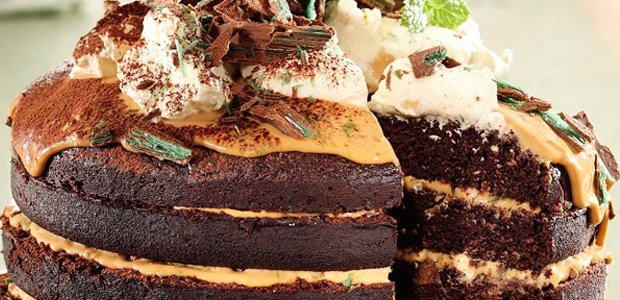 Peppermint Crisp, cake, South African recipes, cho