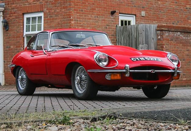 1970 Jaguar E-Type Series II Fixed Head Coupé