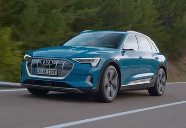 WATCH: Audi's E-Tron Electric SUV To Roll Off Line In 2019