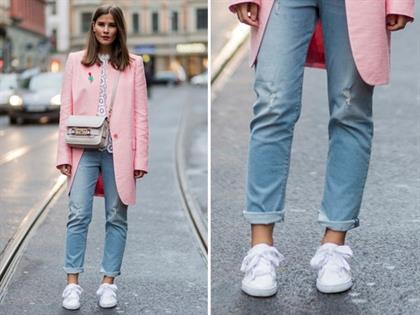 new product 864a7 73f2e 10 chic ways to wear your white sneakers with style