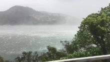 WATCH: South African in Hong Kong shares frightening videos of Typhoon Hato