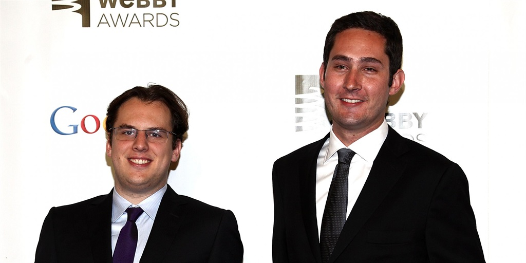 Instagram cofounders Mike Krieger and Kevin Systrom
