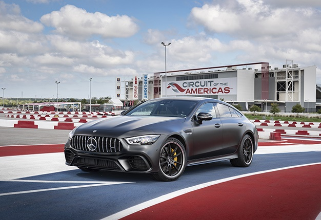Mercedes-AMG GT63 S at circuit