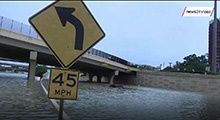 WATCH: Flooding in Houston, more rain to come