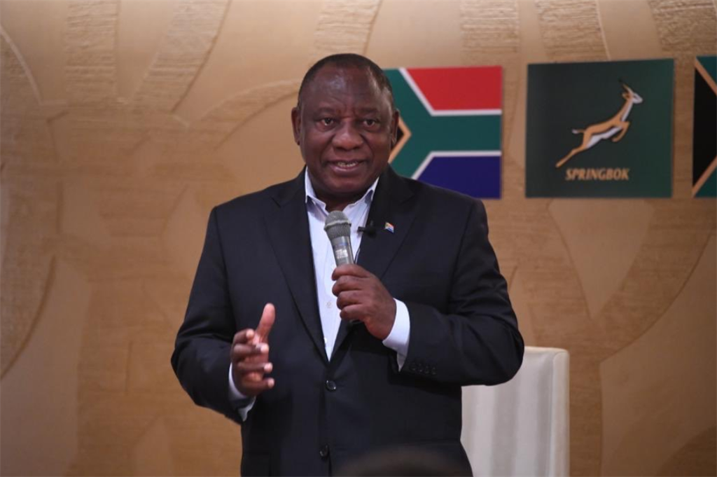 News24.com | WATCH | 'Play your hearts out' - Ramaphosa speaks to Springboks in Japan ahead of RWC Final