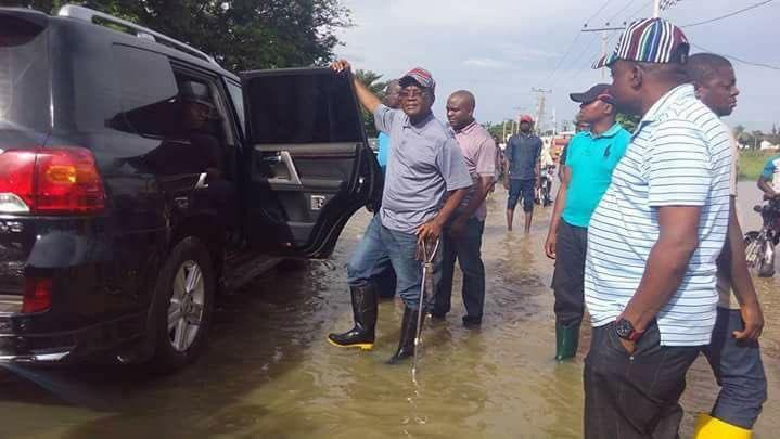 Benue flooding Governor Samuel Ortom