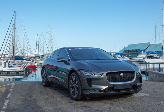 Jaguar I-Pace from JHB to Durban sea