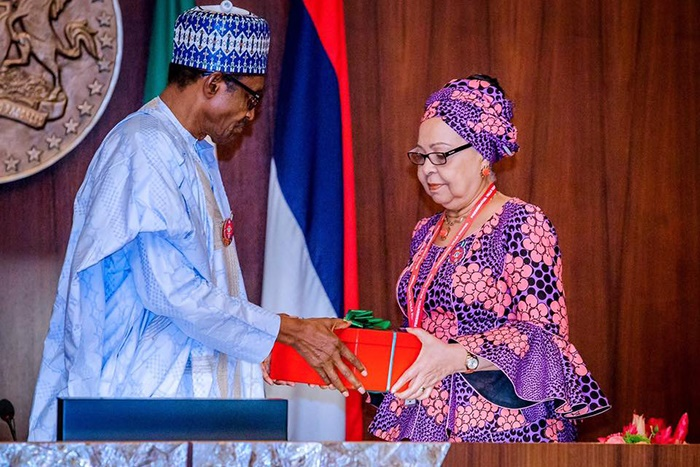 Muhammadu Buhari receives report on new minimum wa
