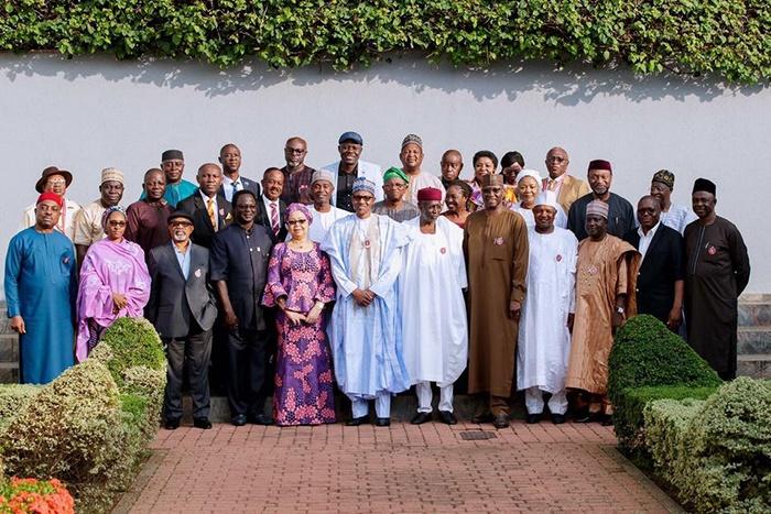 Muhammadu Buhari receives report on new minimum wa