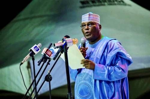 Atiku thanks PDP delegates for choosing him