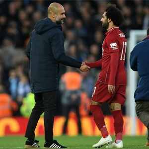 40c823163ff WATCH  Hat-trick hero Salah hands over Man of the Match award to ...