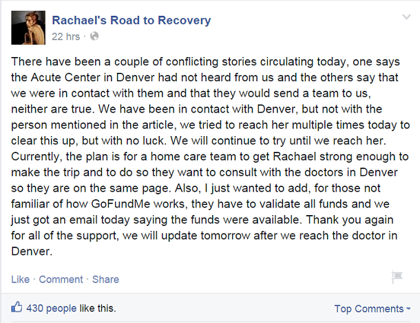 rachael farrokh facebook post