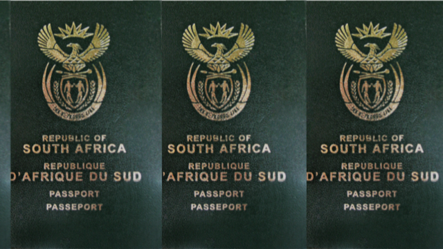 Passports of South Africa