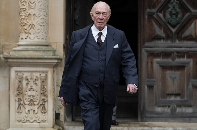 Christopher Plummer in 'All the Money in the World'.