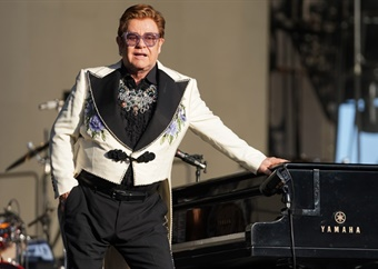 Elton John honoured with his own coin by Royal Mint