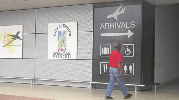 Pietermaritzburg airport.
