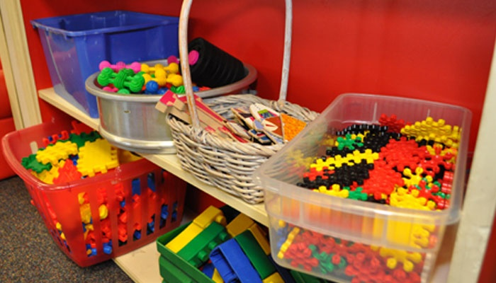 toys for children in day care or creche