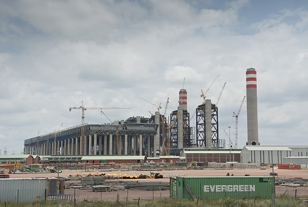 A general view of Medupi Power Station on January 1, 2015. (Gallo Images / Mail & Guardian / Madelene Cronjé)