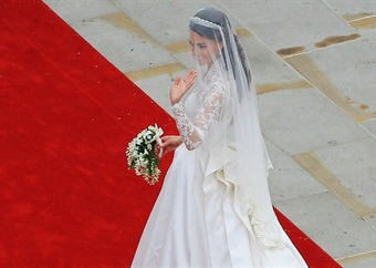 Celebrity shortlist: Top 3 celebrity wedding dresses that made headlines