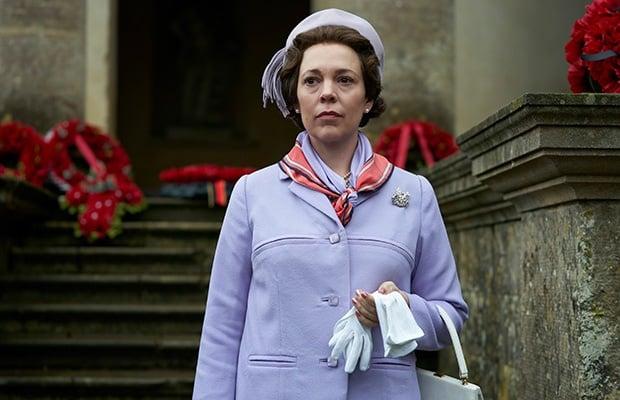 Olivia Colman as Queen Elizabeth in 'The Crown.' (
