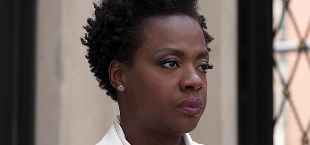 Viola Davis in a scene from Widows.