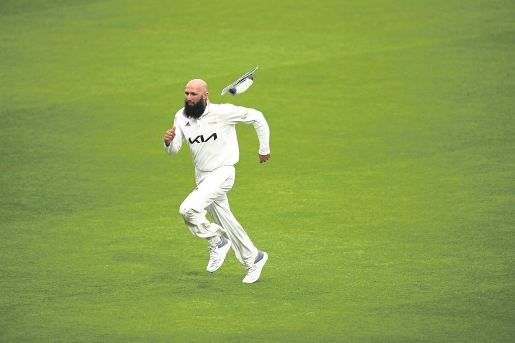 Hashim Amla in action for Surrey in England at the weekend.