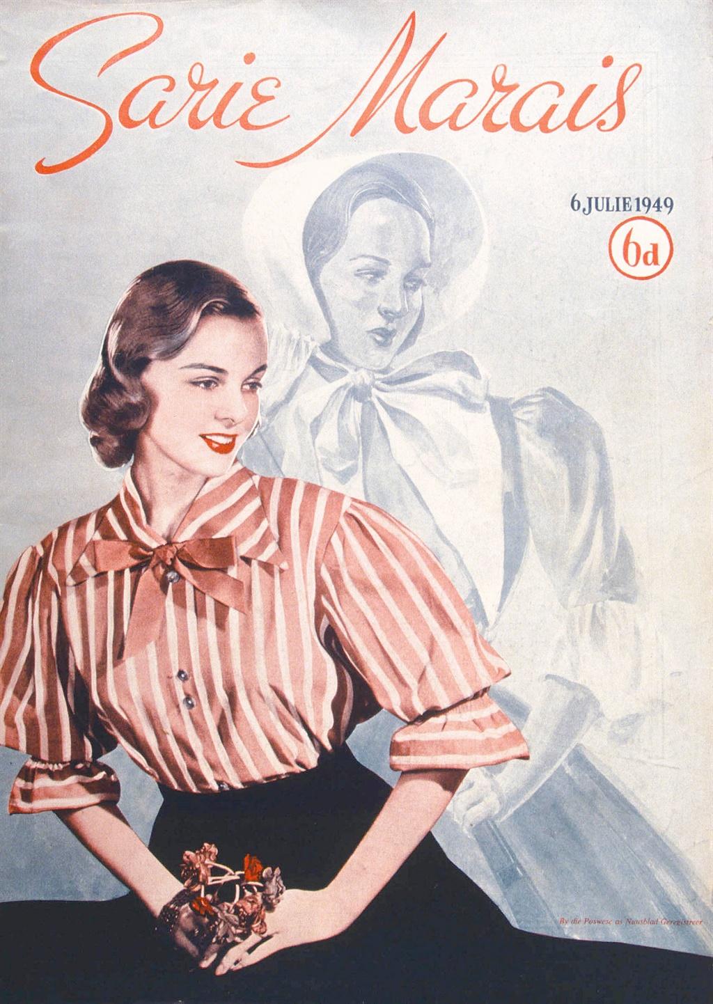Die heel eerste Sarie Marais-voorblad, gepubliseer