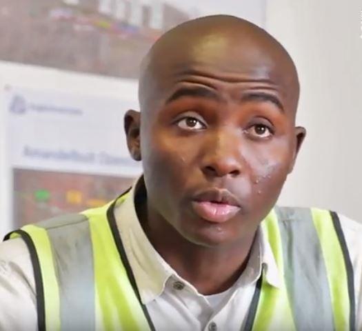 Ramokoka, a production supervisor at Zizwe Batlase