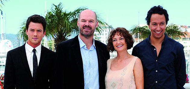 Die span van Skoonheid in Cannes