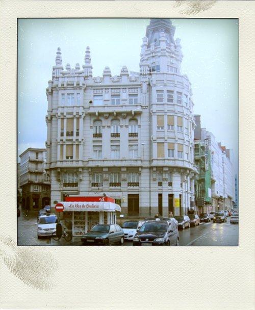 Die stad A Coruña.