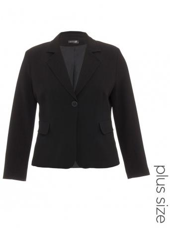 Corporate Blazer In Black