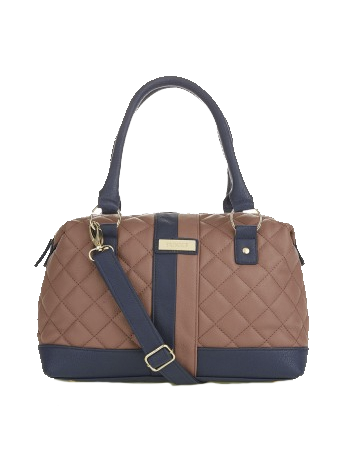 Selfheal Quilted Bowling Bag Coral