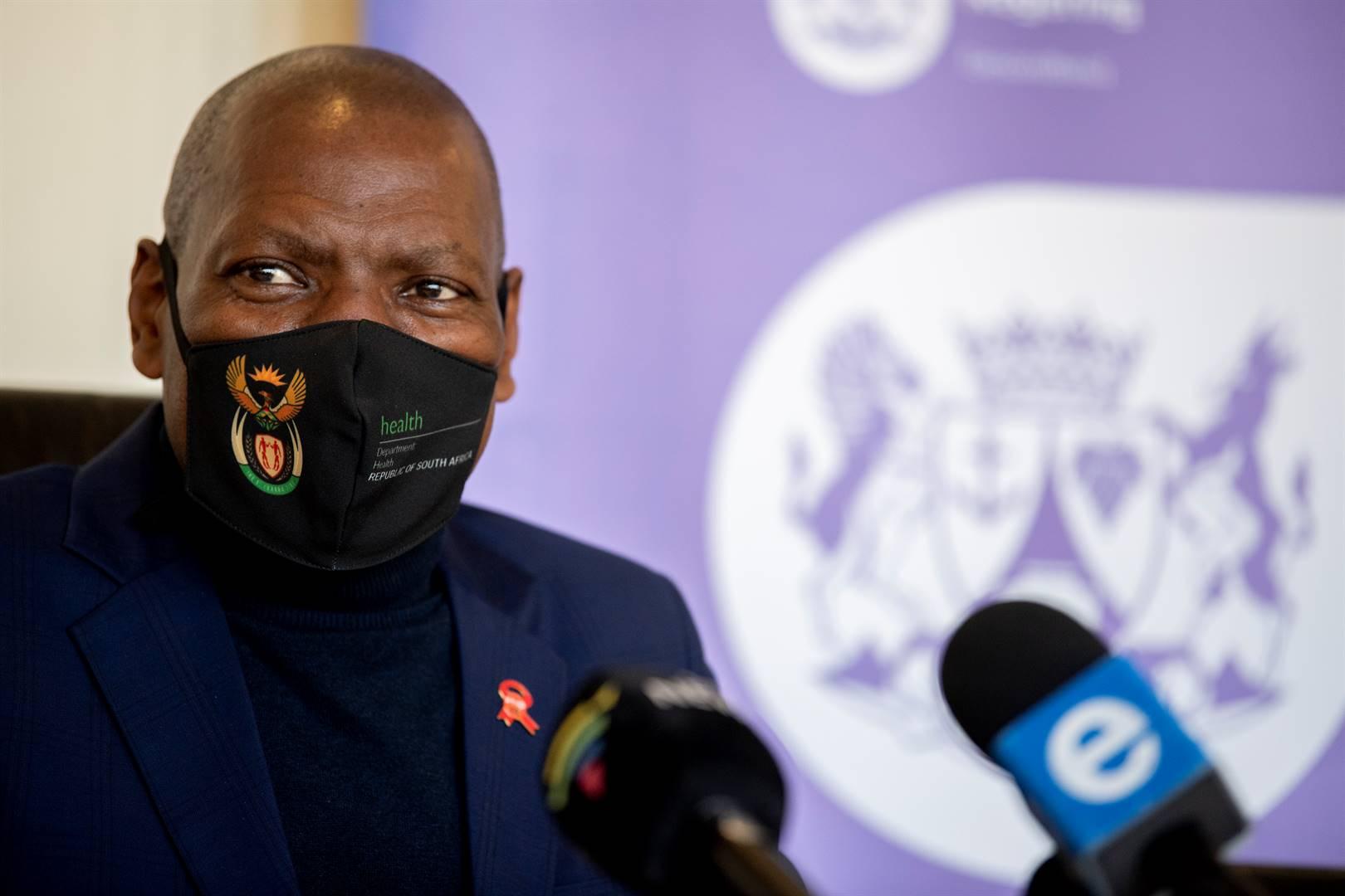 Dr Zweli Mkhize.