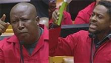 WATCH: EFF disrupts Parliament - again