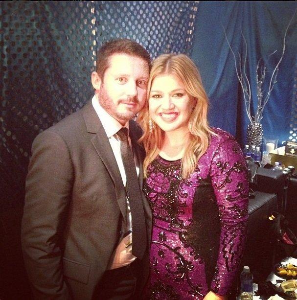 Kelly Clarkson en haar verloofde