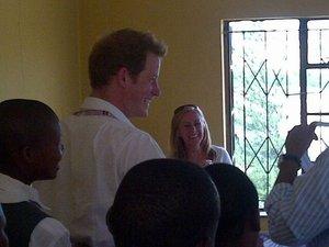 Prins Harry in Lesotho