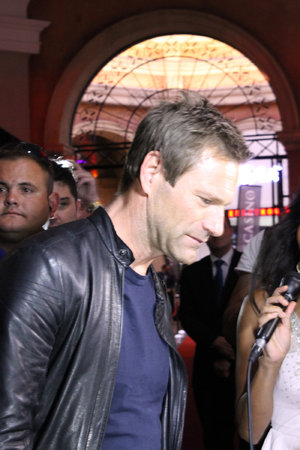 Aaron Eckhart by Montecasino in SA