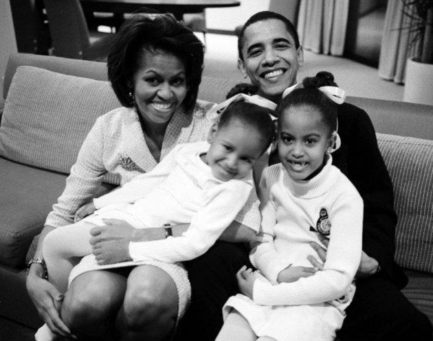 Die Obama-gesin 'n paar jaar gelede