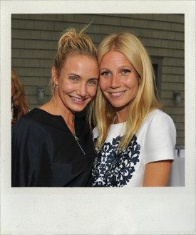 FOTO: Cameron en Gwyneth