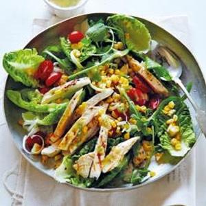 recipe, chicken, salad