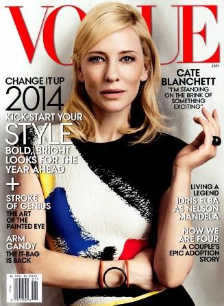 Die aktrise Cate Blanchett se hare herinner aan die langer bob-style wat tans gewild is.