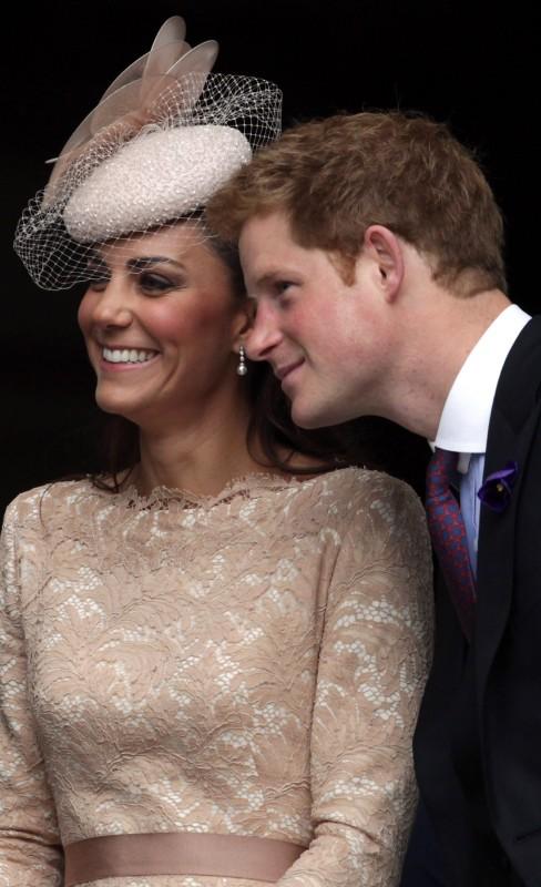 Harry en skoonsus, Kate FOTO: Getty Images / Gallo Images
