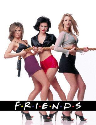 Jennifer Aniston se Rachel-haarstyl in Friends