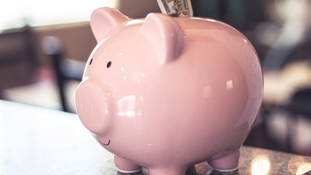 Piggy banks: no longer for sweeties.